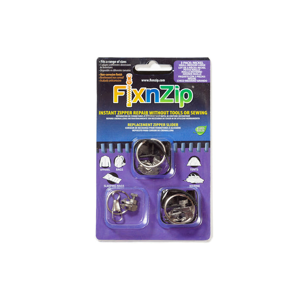 FIX-N-ZIP ZIPPER REPAIR KIT