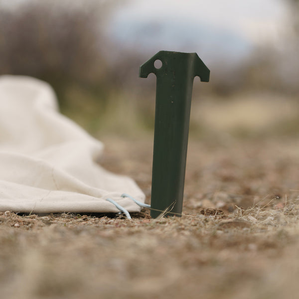 MILITARY ALUMINUM WEDGE STAKE
