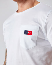 White Mercier Pocket Tshirt