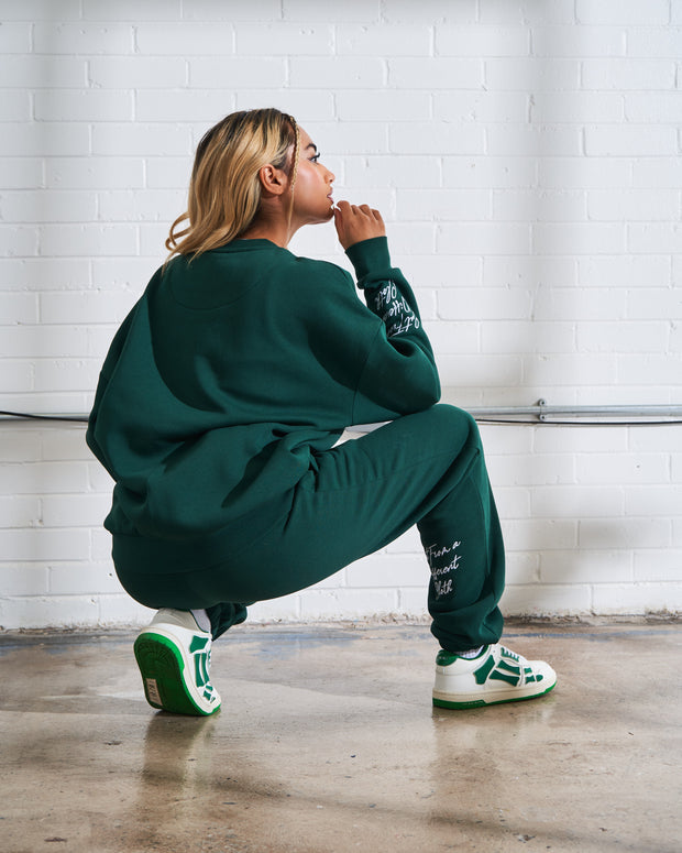 Navy Paris Badge Hoodie