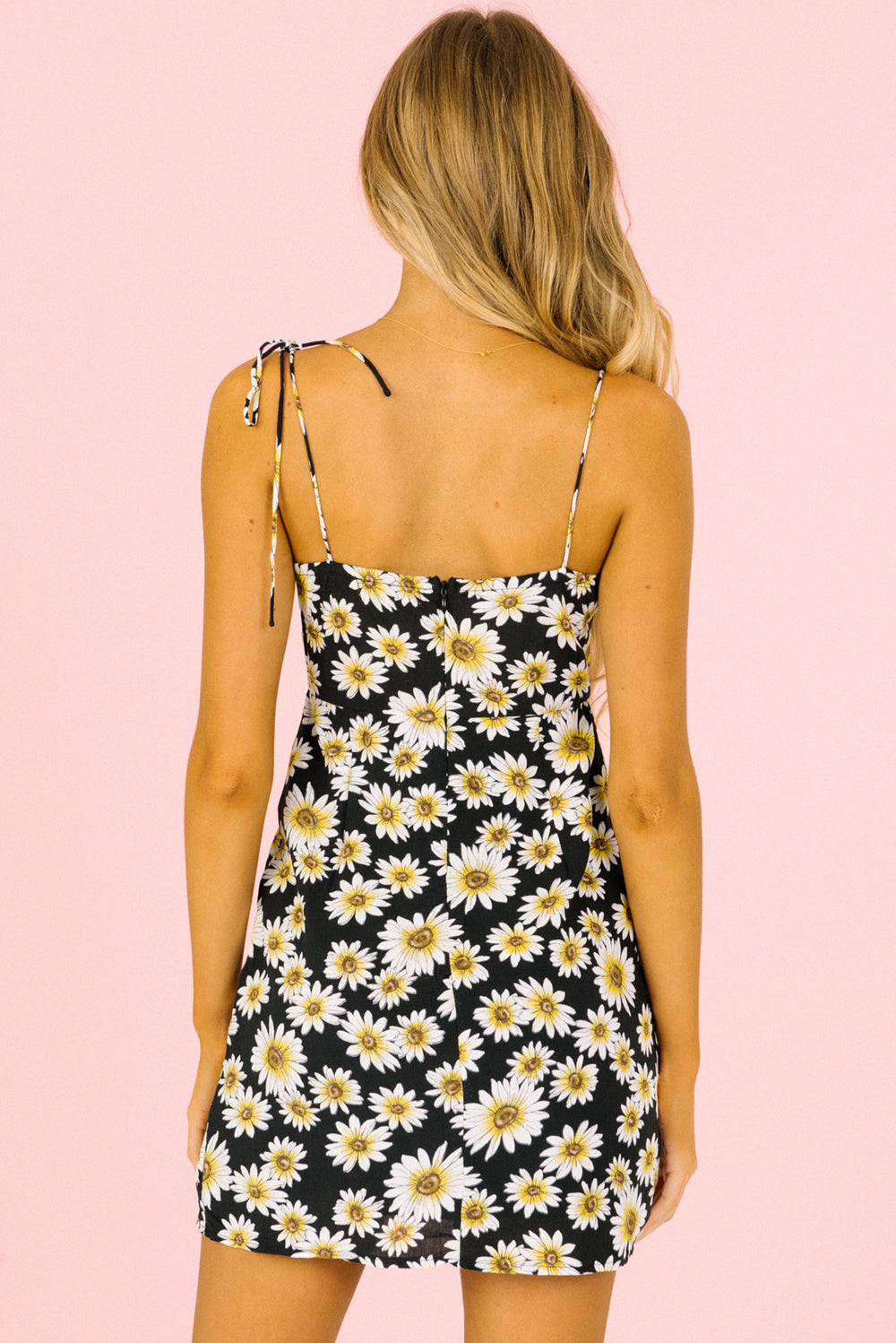 black floral mini dress, black mini dress, summer mini dress
