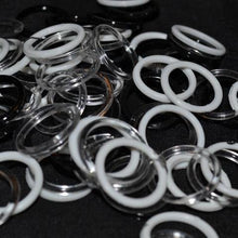Load image into Gallery viewer, Clear Plastic Rings - 9 Sizes