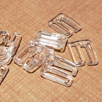 Clear Plastic Hooks - 5 Sizes
