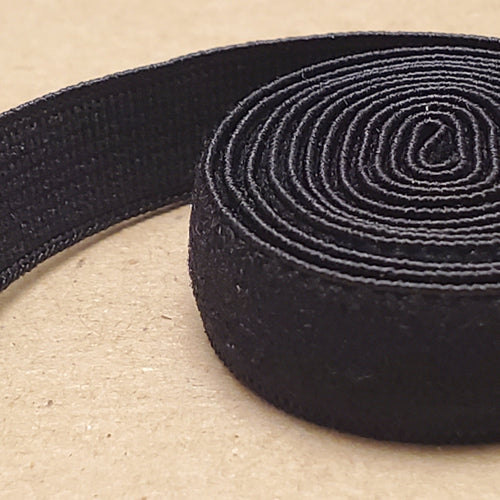 Black strap elastic for Bras 3/8