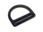Double Bar D Ring_DR 10_Black