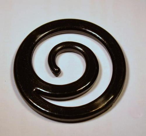 Spiral Trim - 2 Sizes - Black or White