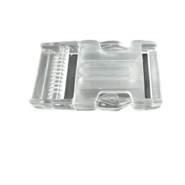Side Release Buckle - SB 01 - 2 Sizes - Clear