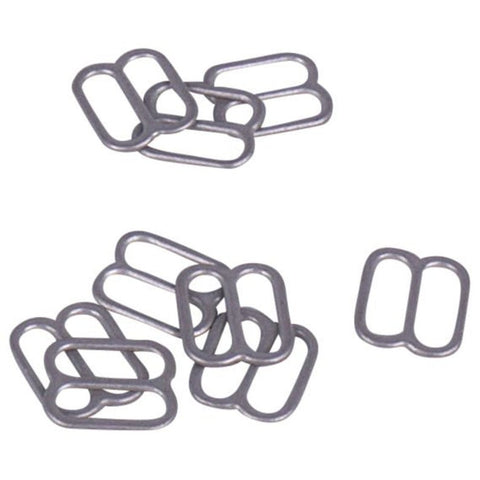 Series 336xx - Silver Zamak Double High Sliders - 100 Pcs