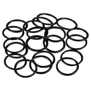 Black Nylon Coated Steel Rings