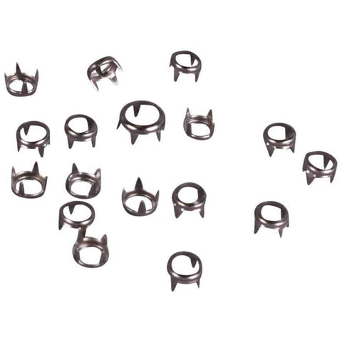 Open Studs - Size 7mm - Nickel (100 pcs)