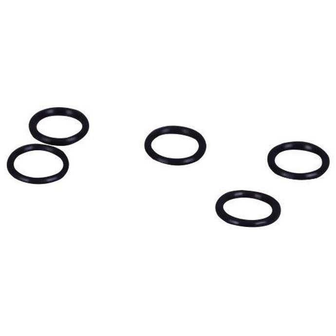 Black Plastic Rings Black - 9 Sizes