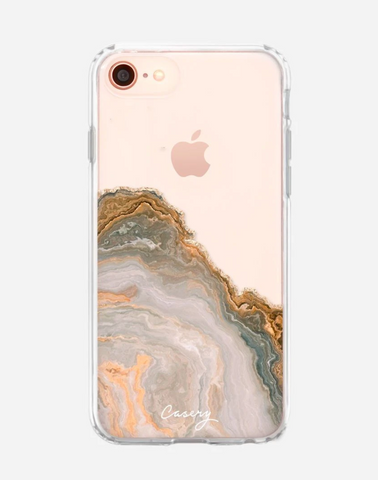 Casery Agate Case for iPhone SE 2020