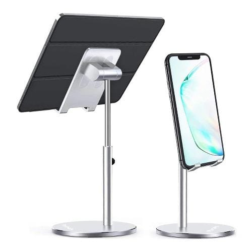 SaharaCase - Stand for Most Cell Phones and Tablets - Silver