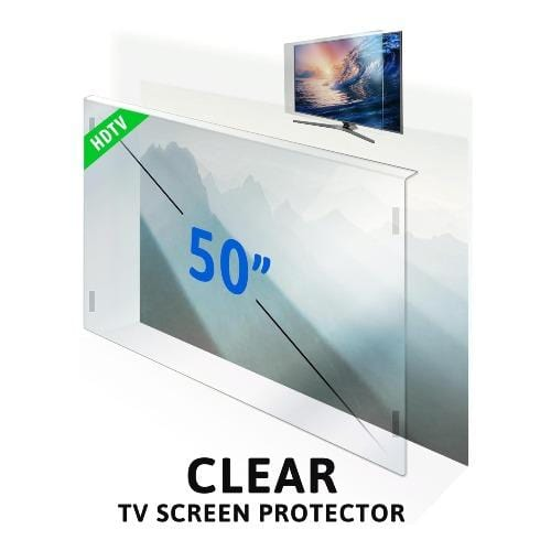 50 inch ZeroDamage Tempered Glass TV Screen Protector - Sahara Case LLC