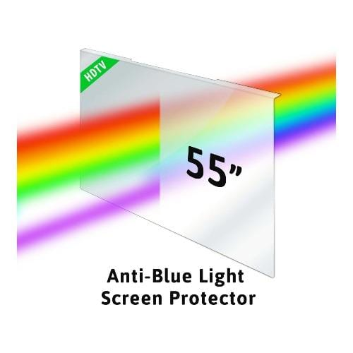 55 inch ZeroDamage Anti-Blue Light TV Screen Protector and Blue Light Filter - Sahara Case LLC