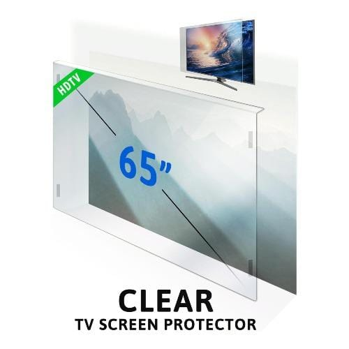 65 inch ZeroDamage Tempered Glass TV Screen Protector - Sahara Case LLC