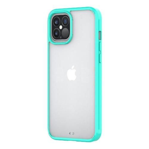 "SaharaCase - Hard Shell Series Case - iPhone 12 Pro Max 6.7"" - Clear Teal"