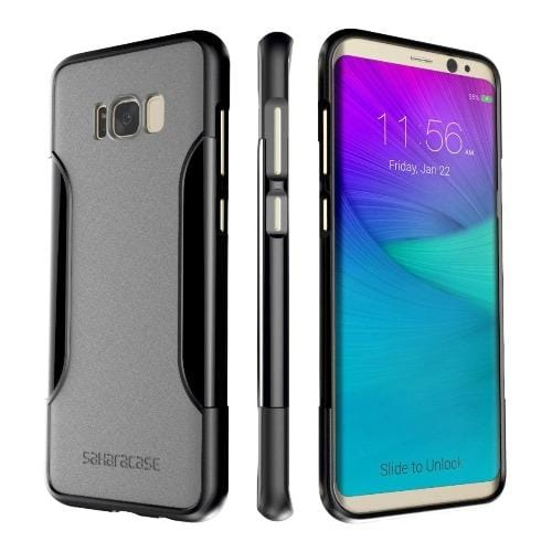 SaharaCase Slim-fit Series Case for Galaxy S8 Plus (2017) – Gray - Sahara Case LLC