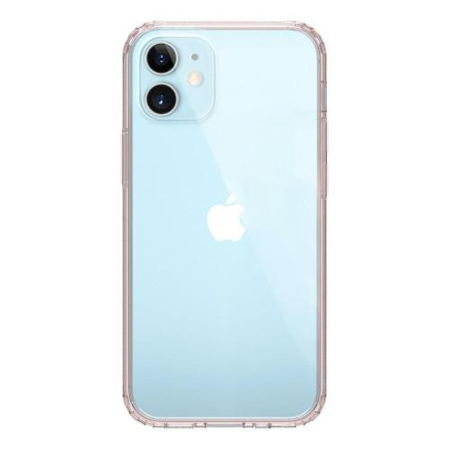 "SaharaCase - Hard Shell Series Case - iPhone 12 Mini 5.4"" - Clear Rose Gold"