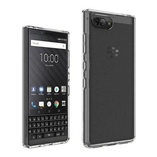 SaharaCase Crystal Series Case - Blackberry Key2 and Key2 LE Clear - Sahara Case LLC