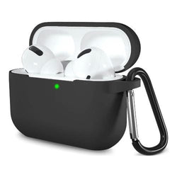 Silicone AirPods Pro Case in Black - Protective Silicone Case Kit