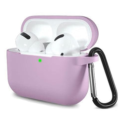 Silicone AirPods Pro Case in Lavender - Protective Silicone Case Kit