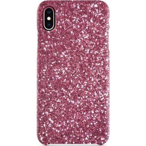 Classic Case & Glass Screen Protection Kit - iPhone XR - Sparkle Rose Gold - Sahara Case LLC