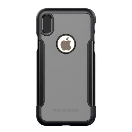 Classic Case & Glass Screen Protection Kit - iPhone X/XS Mist Gray - Sahara Case LLC