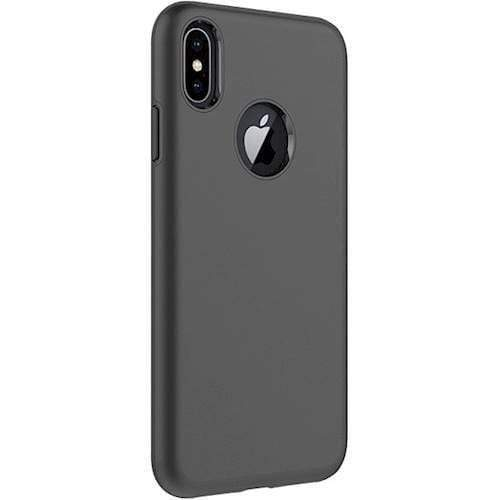 SaharaCase - Classic Series Case - Apple iPhone X/XS - Scorpion Black - Sahara Case LLC
