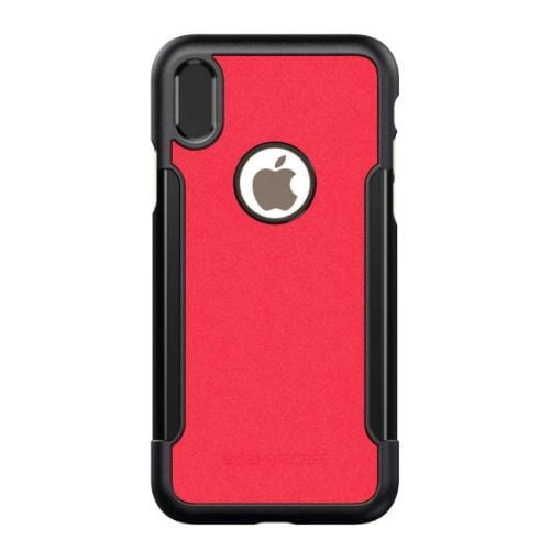 Classic Case & Glass Screen Protection Kit - iPhone X/XS Viper Red - Sahara Case LLC