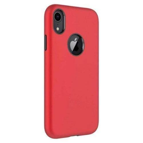 Classic Case & Glass Screen Protector - iPhone XR - Viper Red - Sahara Case LLC