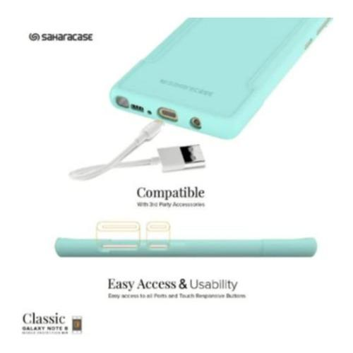 Classic Case - Samsung Galaxy Note 8 Aqua - Sahara Case LLC