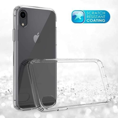 SaharaCase - Crystal Series Case - Apple iPhone XR - Clear - Sahara Case LLC
