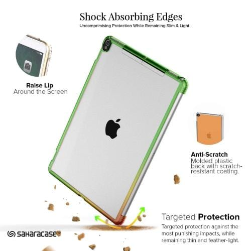 "Crystal Case & Glass Screen Protection Kit - iPad Pro 12.9"" (2017) Clear Rose Gold - Sahara Case LLC"