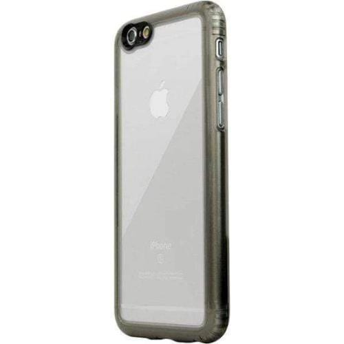 Crystal Case & Glass Screen Protection Kit - iPhone 6/6s Clear Black - Sahara Case LLC