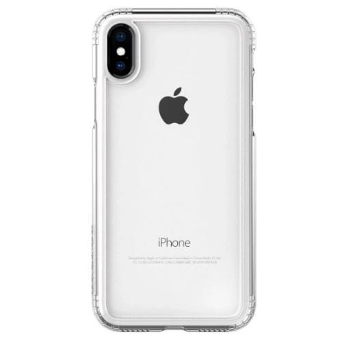Crystal Case & Glass Screen Protection Kit - iPhone X/XS Clear - Sahara Case LLC
