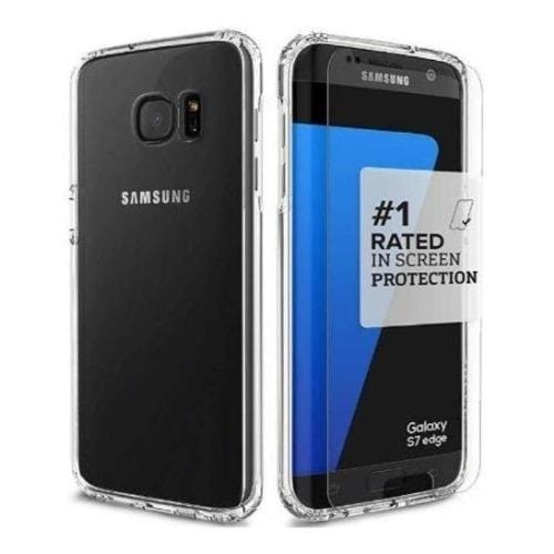 Crystal Case - Samsung Galaxy S7 Edge Clear - Sahara Case LLC