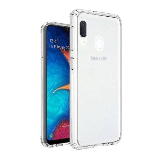 Crystal Series Case Samsung Galaxy A20 Clear - Sahara Case LLC