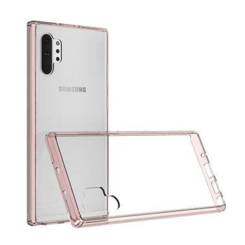 Crystal Series Case Samsung Galaxy Note 10+ and Note 10+5G  Clear Rose Gold - Sahara Case LLC