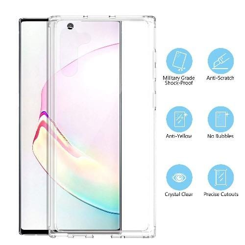 Crystal Series Case Samsung Galaxy Note 10 Clear - Sahara Case LLC