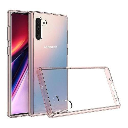 Crystal Series Case Samsung Galaxy Note 10 Clear Rose Gold - Sahara Case LLC