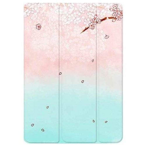 "Custom Case Flower - iPad 9.7"" (2017/2018) Oasis Teal - Sahara Case LLC"