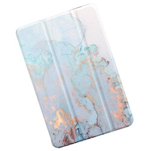 "Custom Case - iPad Pro 11"" (2018) Desert Marble Blue - Sahara Case LLC"