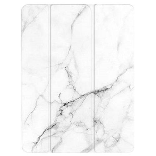 "Custom Case - iPad Pro 11"" (2018) White marble - Sahara Case LLC"
