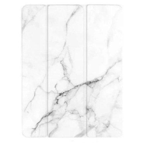 "Custom Case - iPad Pro 12.9"" (2020) White marble - Sahara Case LLC"
