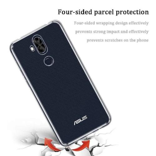 Cyrstal Series Case for Asus Zenfone 5Q - Clear - Sahara Case LLC