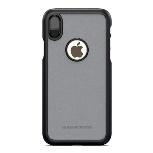 dBulk Case & Glass Screen Protection Kit - Apple iPhone X/XS Mist Gray - Sahara Case LLC