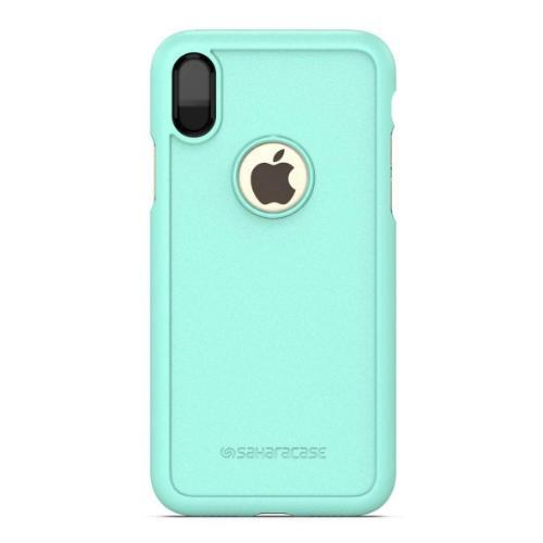 dBulk Case & Glass Screen Protection Kit - iPhone X/XS Teal - Sahara Case LLC
