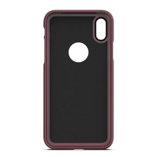 dBulk Case & Glass Screen Protection Kit - iPhone X/XS Wildflower Plum - Sahara Case LLC