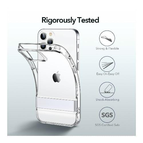"ESR - Air Shield Boost Series Case - iPhone 12 Pro Max 6.7"" - Clear - Sahara Case LLC"